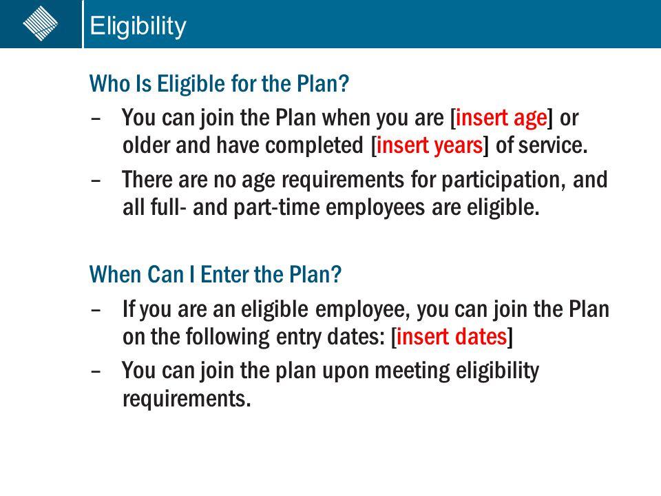 Enrollment How Do I Enroll in the Plan.