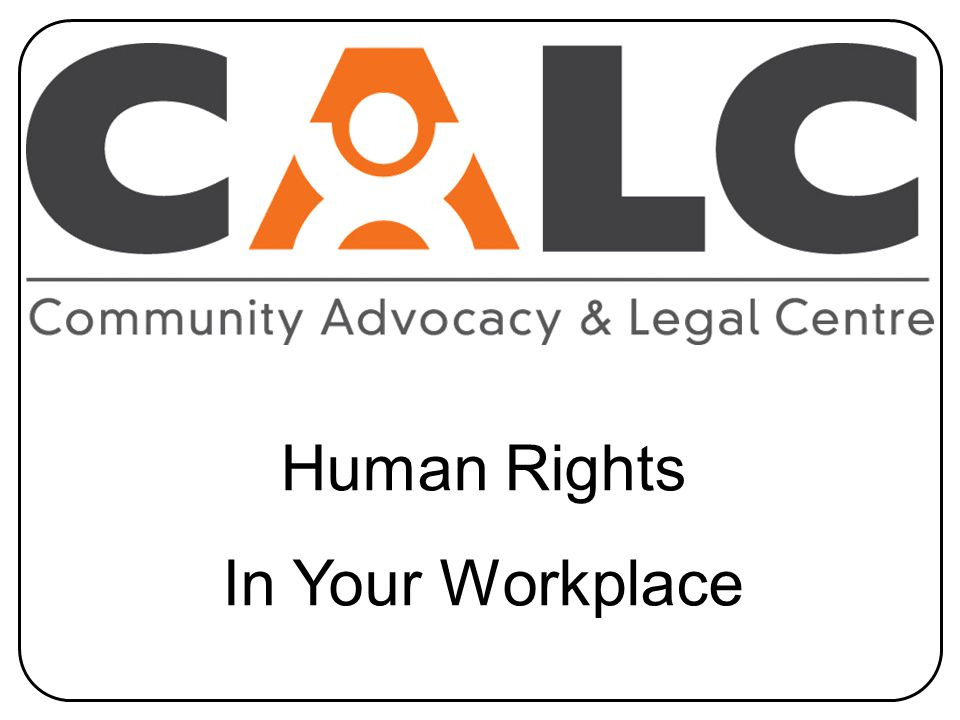 Human Rights In Your Workplace
