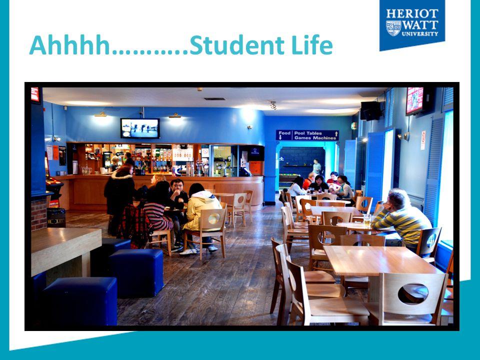 Ahhhh………..Student Life