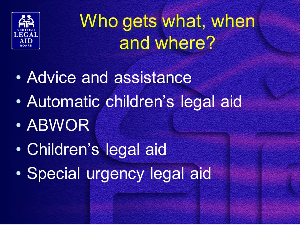 The Four Specified Hearings CPO variation or termination 2 nd working day hearing Secure accommodation placement Custody hearing