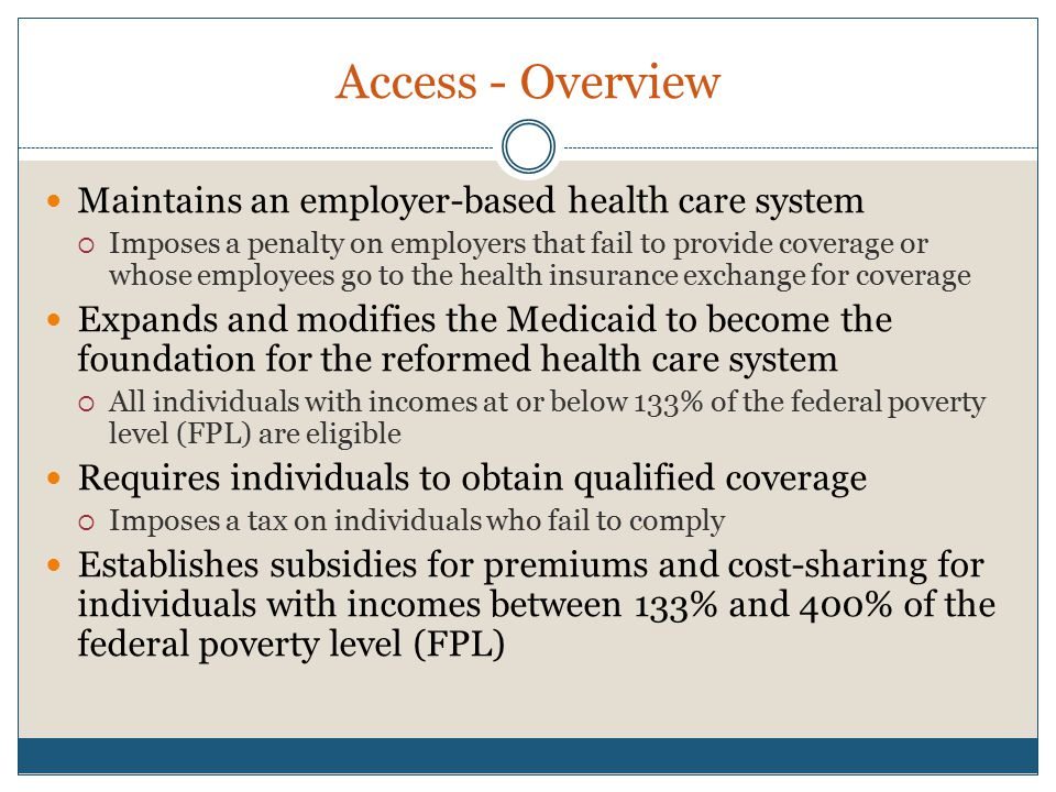 Access - Overview cont.