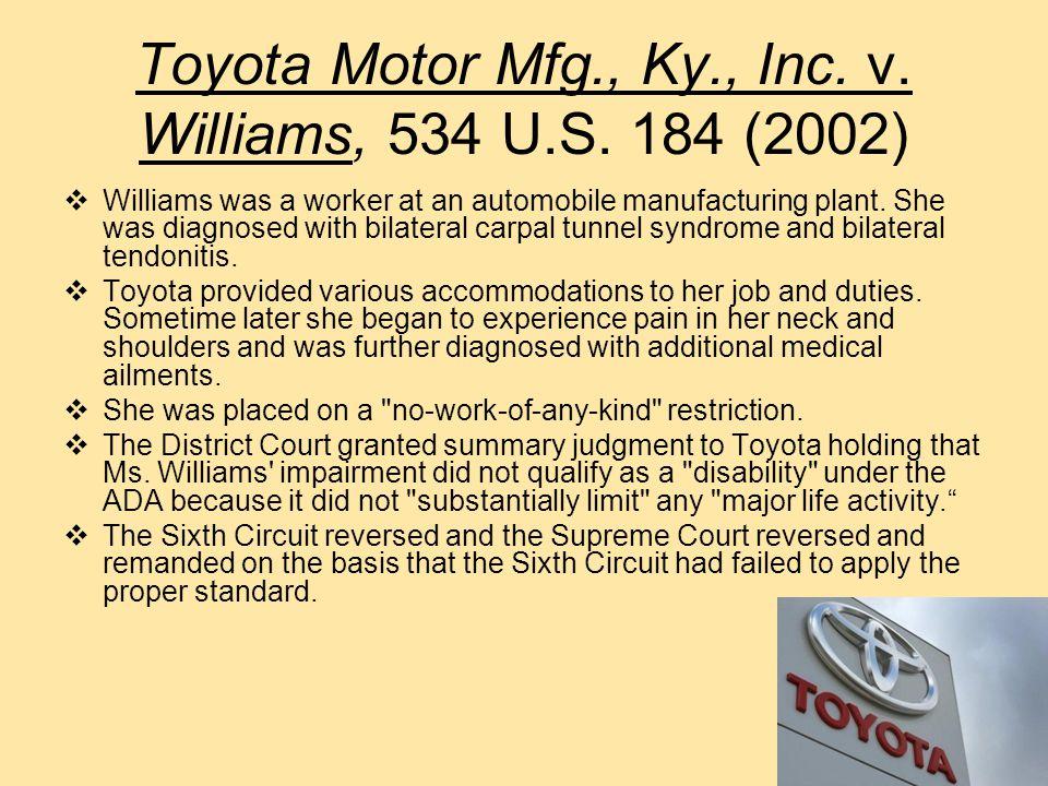 Murphy v. United Parcel Service, Inc.,527 U.S.