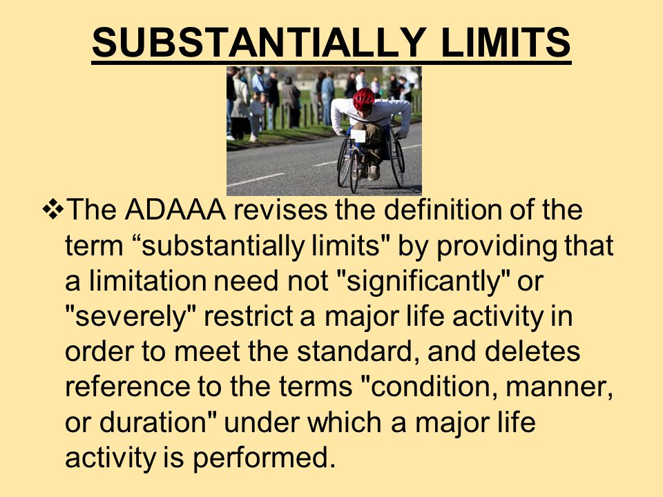 Pregnancy may be the newest protected disability under the ADAAA ADAAA does not address pregnancy but the EEOC in its Questions and Answers about the proposed regulations for the ADAAA stated: Certain impairments resulting from pregnancy, however, may be disabilities if they substantially limit a major life activity. Questions and Answers EEOC statement leaves a lot of room for interpretation - enough room that employers should think carefully before denying accommodations to pregnant employees.