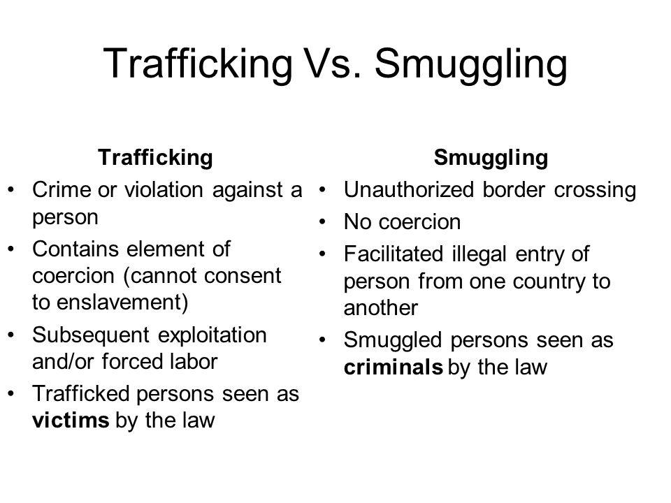 Trafficking Vs.