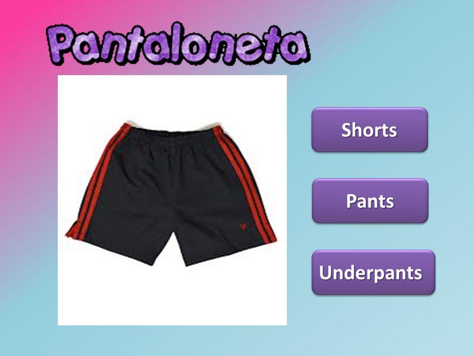 Pantaloneta Shorts Pants Underpants