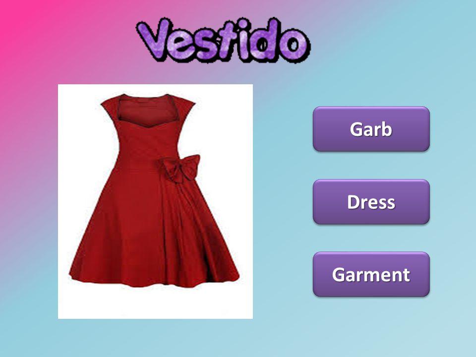 Vestido Garb Dress Garment