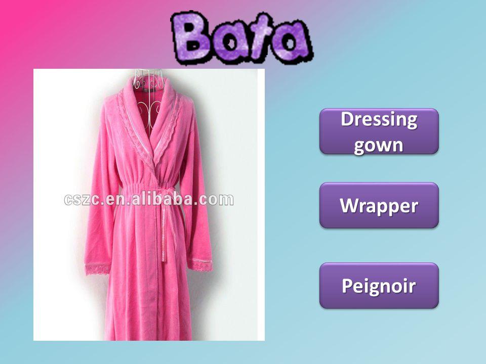 Bata Dressing gown Dressing gown Dressing gown Dressing gown Wrapper Peignoir