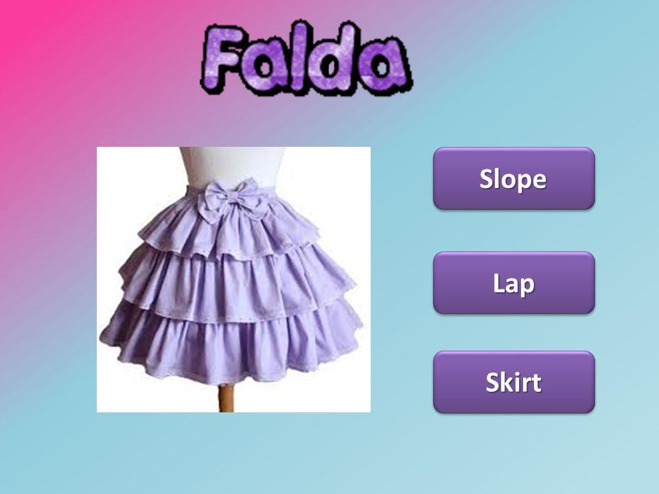 Falda Slope Lap Skirt