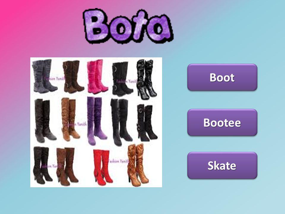 Bota Boot Bootee Skate