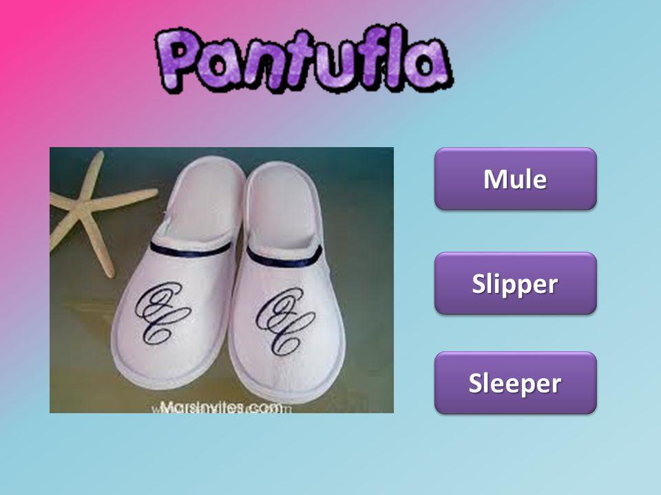 Pantufla Mule Slipper Sleeper