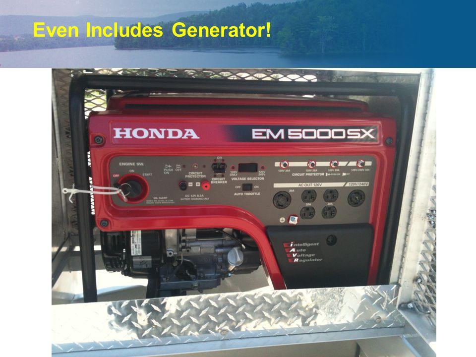 Even Includes Generator!