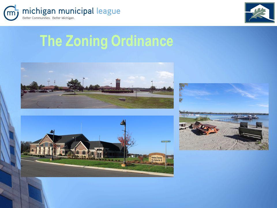 The Zoning Ordinance