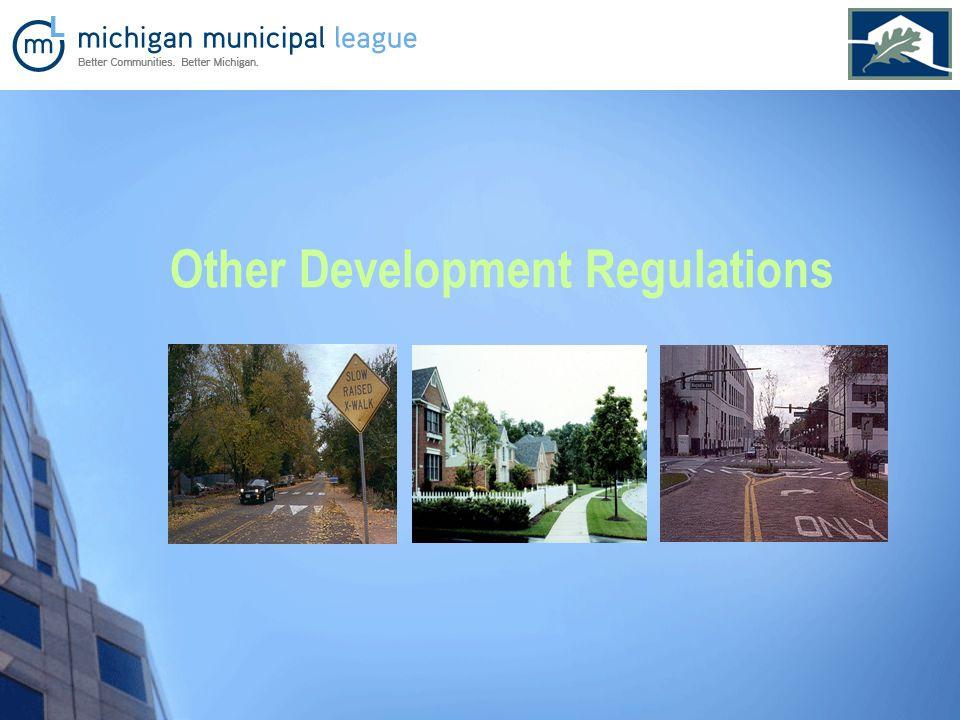 Other Development Regulations