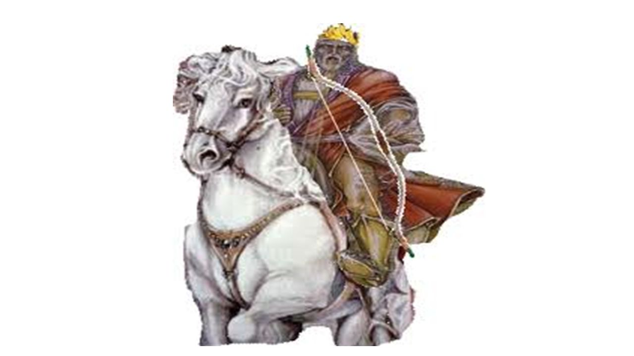 Revelation chapter 6 What is significant about this horse and rider.