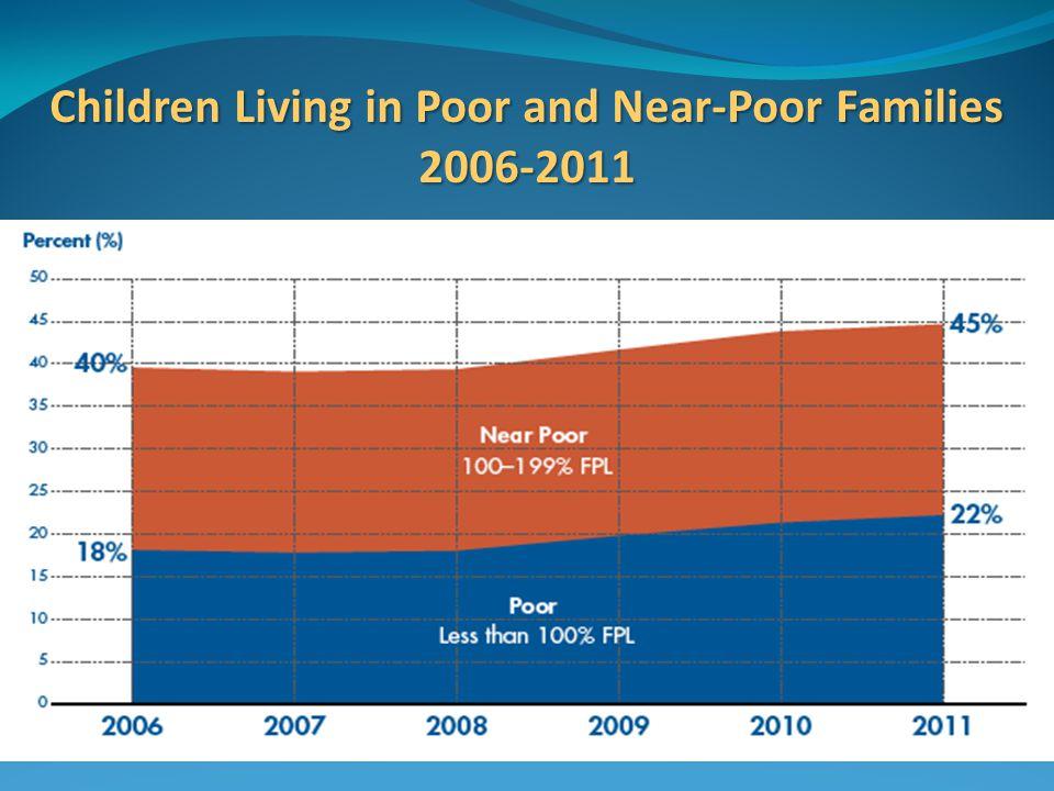 Children Living in Poor and Near-Poor Families 2006-2011