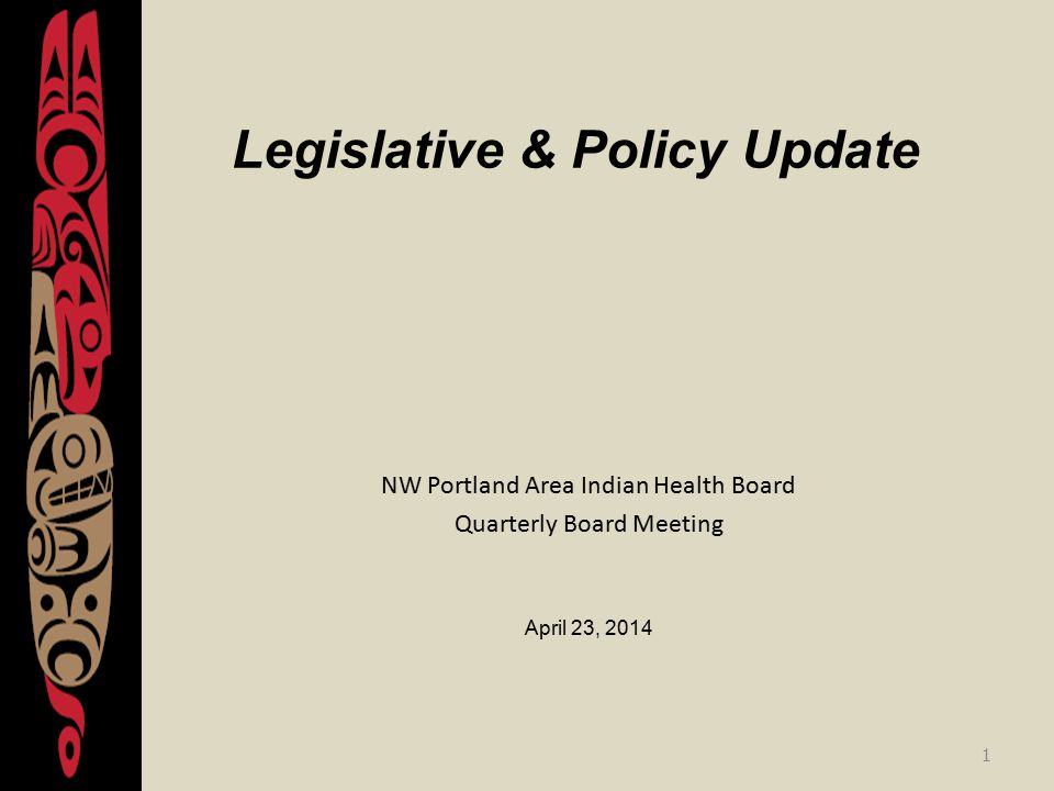 Report Overview 1.SDPI Update 2.Senate Committee on Indian Affairs 3.Indian Bills 4.FY 2014 & FY 2015 Budget Updates 5.CSC Update 6.DTLLs 7.ACA Exemptions