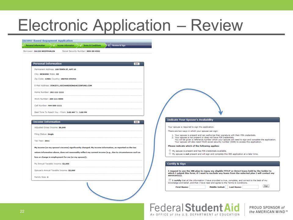 Electronic Application – Review 22