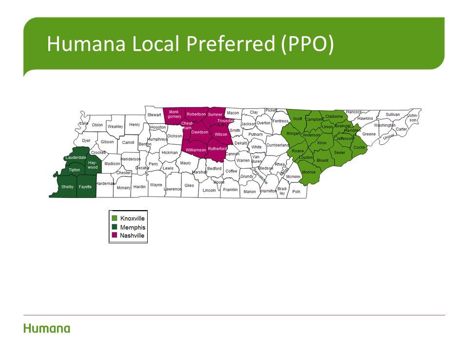 Humana Local Preferred (PPO)