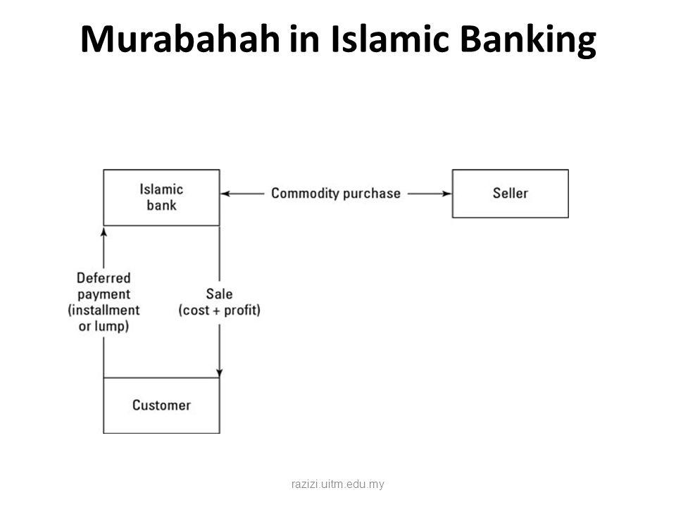 Murabahah in Islamic Banking razizi.uitm.edu.my