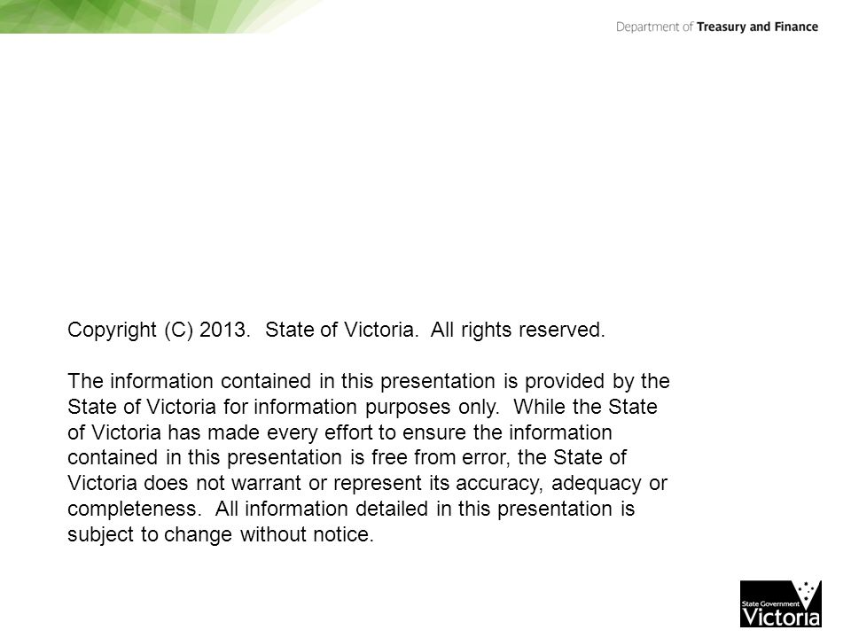 Copyright (C) 2013. State of Victoria. All rights reserved.