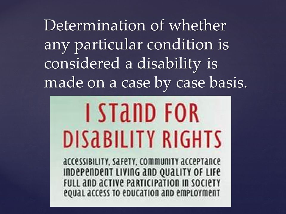 Some claim that disabilities including clinical depression or minor neck/back pain are being accommodated when they should not be.