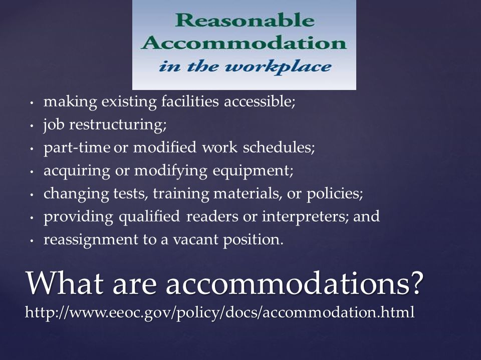 Lack of accessibility or certain services can be considered discrimination, regardless of who it actually affects.