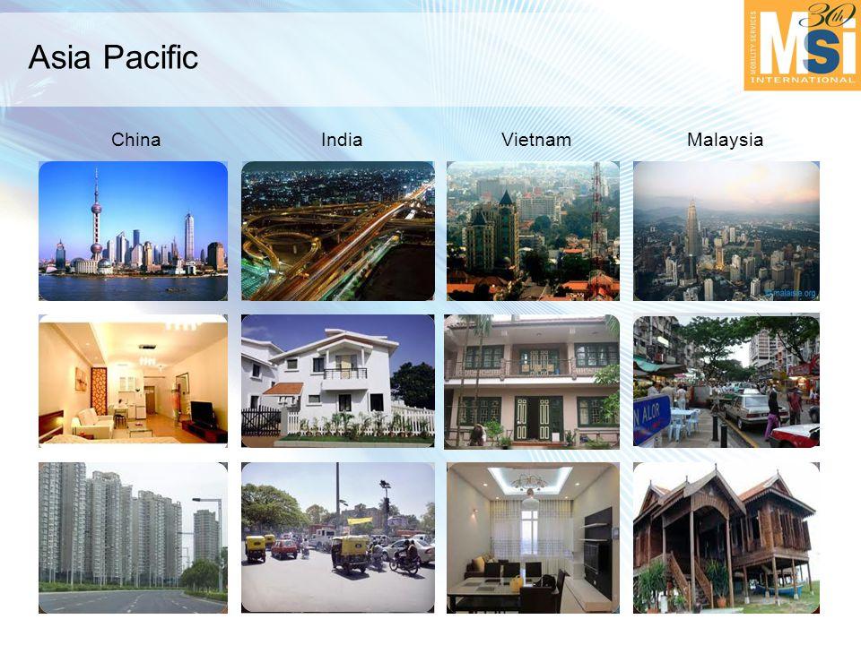 Asia Pacific ChinaIndiaVietnamMalaysia
