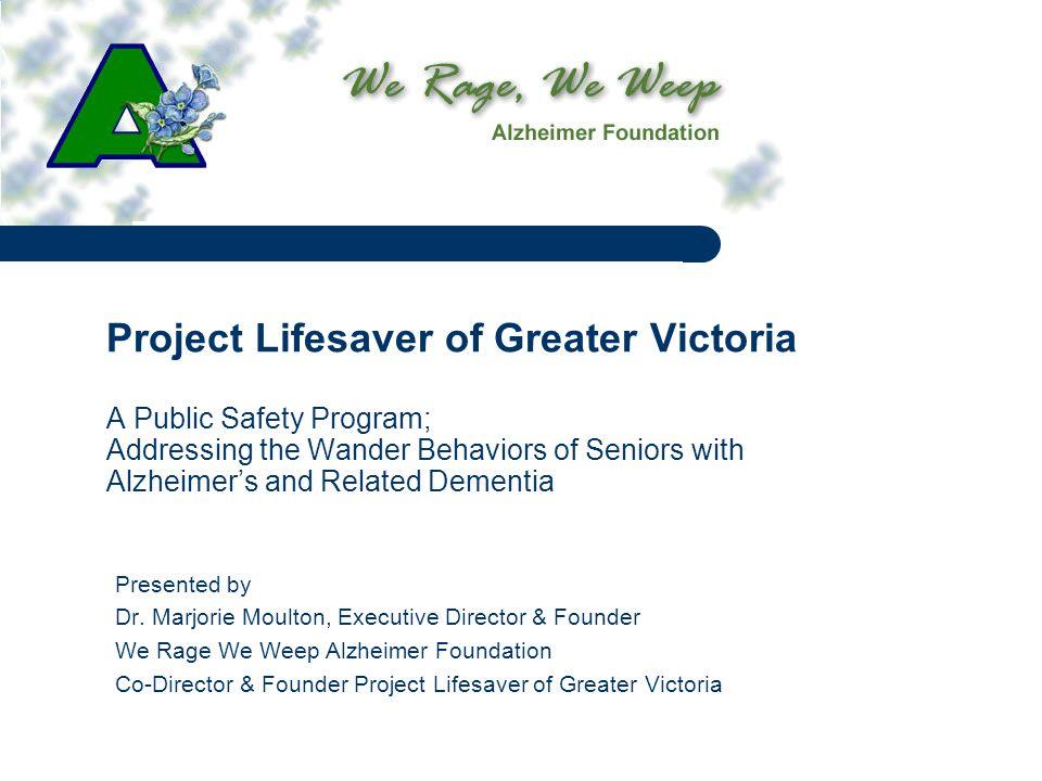 Project Lifesaver Enrolment 1-11/2 hr.