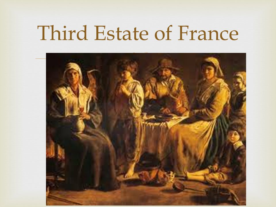  Third Estate of France