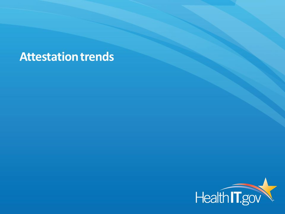 Attestation trends