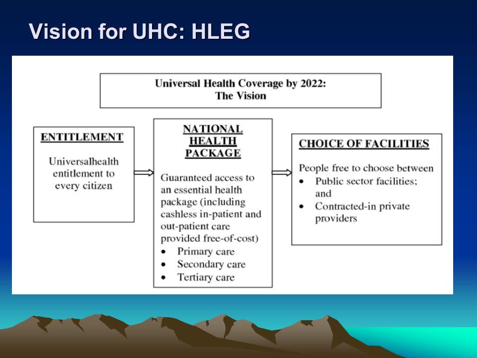 Vision for UHC: HLEG