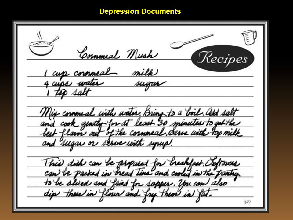 Depression Documents