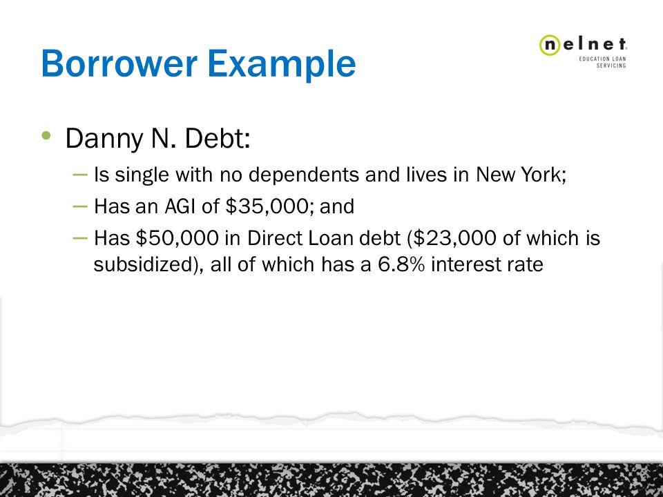 Borrower Example Danny N.