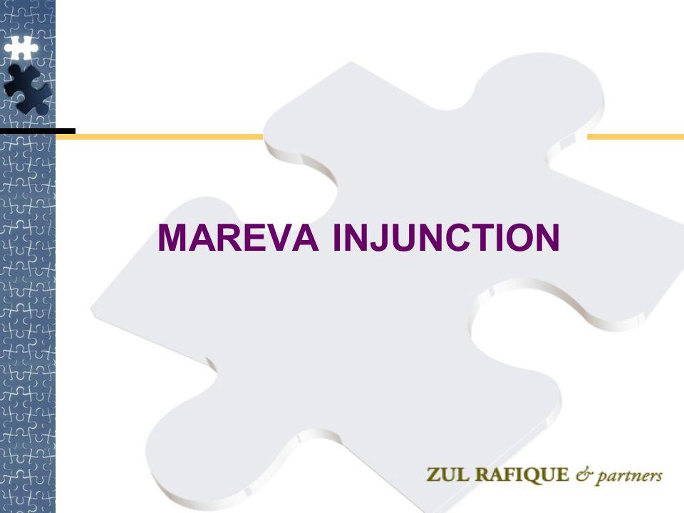 MAREVA INJUNCTION