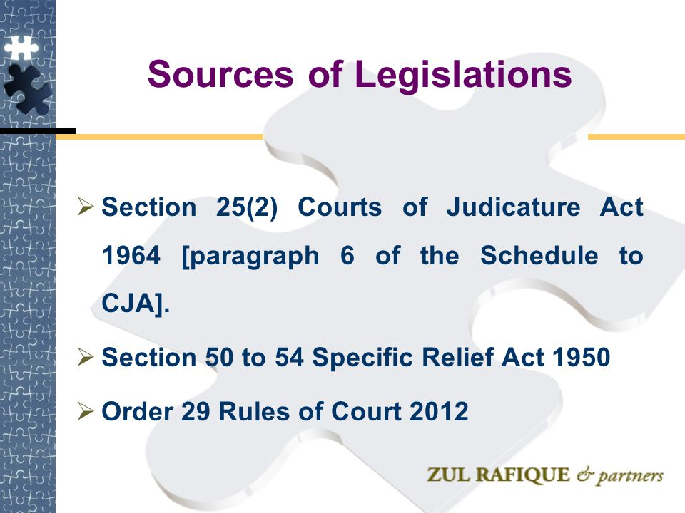 Right to an Injunction  Right to an Injunction  A right to obtain an interlocutory injunction is not a cause of action…the right to obtain an interlocutory injunction is merely ancillary to the pre-existing cause of action Dial Singh a/p Tara Singh v Mann Foong Realty Sdn Bhd [2000] 3 MLJ 153 at160 CA See also: (Siskina (Cargo Owners) v Distos SA [1979] AC 210)