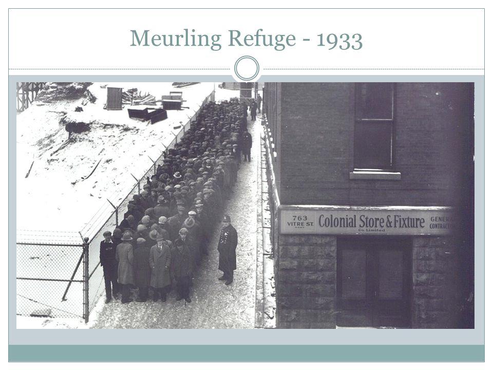Meurling Refuge - 1933