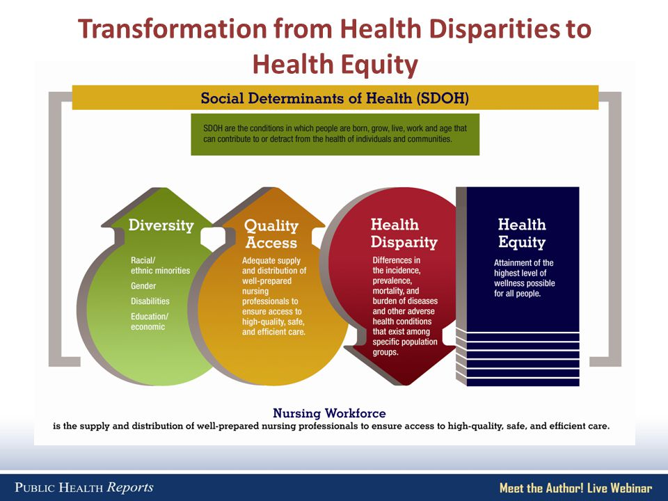 Transformation from Health Disparities to Health Equity