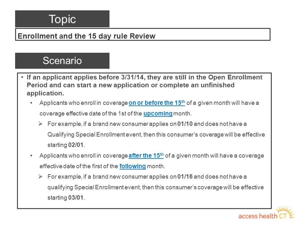If an applicant applies before 3/31/14, they are still in the Open Enrollment Period and can start a new application or complete an unfinished applica
