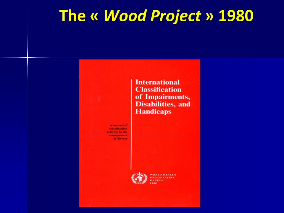The « Wood Project » 1980
