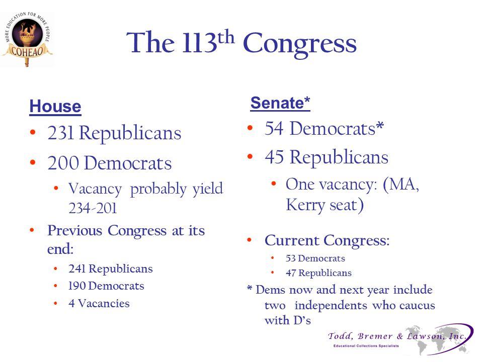 Senate HELP Committee Leadership o Health, Education, Labor & Pensions Com.