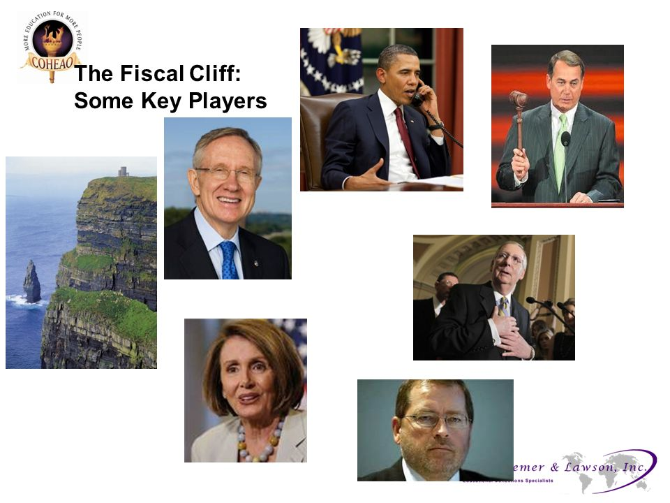 The Fiscal Cliff: Some Key Players