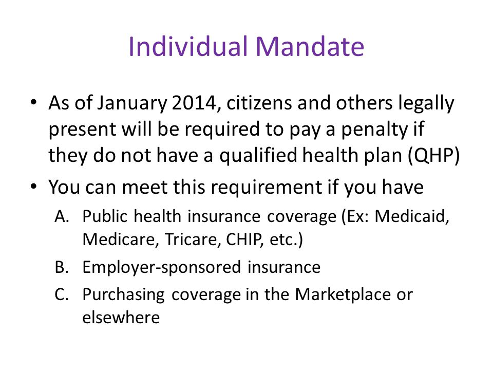 Special Enrollment Periods Loss of minimum essential coverage Gain a dependent—Pregnancy does not trigger an SEP Loss of dependent status Change in status to become a citizen or lawfully present Exceptional circumstances, including loss of eligibility for a hardship exemption **Includes those who were in the Medicaid gap but now make over 138% FPL Release from jail or prison