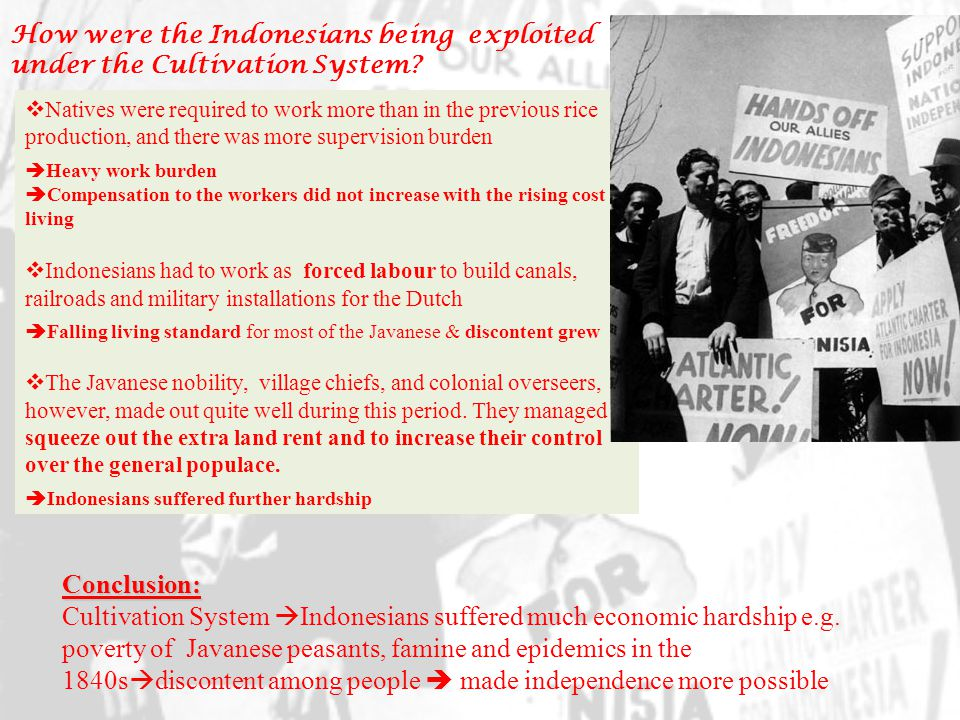  The Dutch established the nascent oil (petroleum) extraction that Indonesians had started already when tin mining was well- developed.
