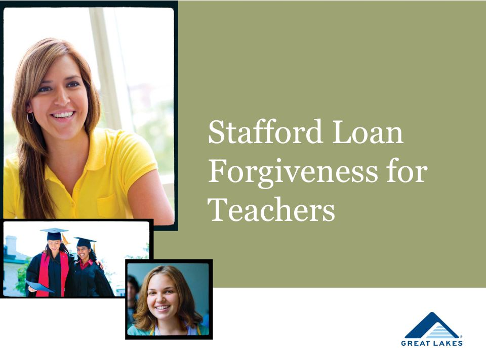 Stafford Loan Forgiveness for Teachers