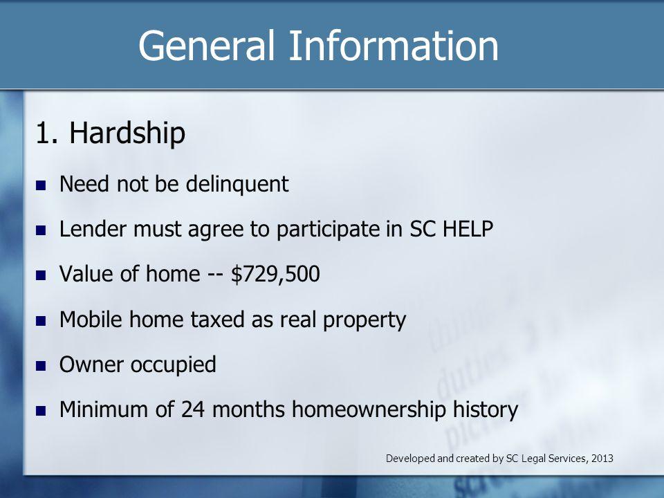 General Information 1.