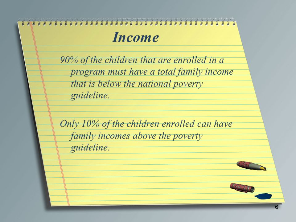 Child Income For our purposes, a child only has income in one particular situation.