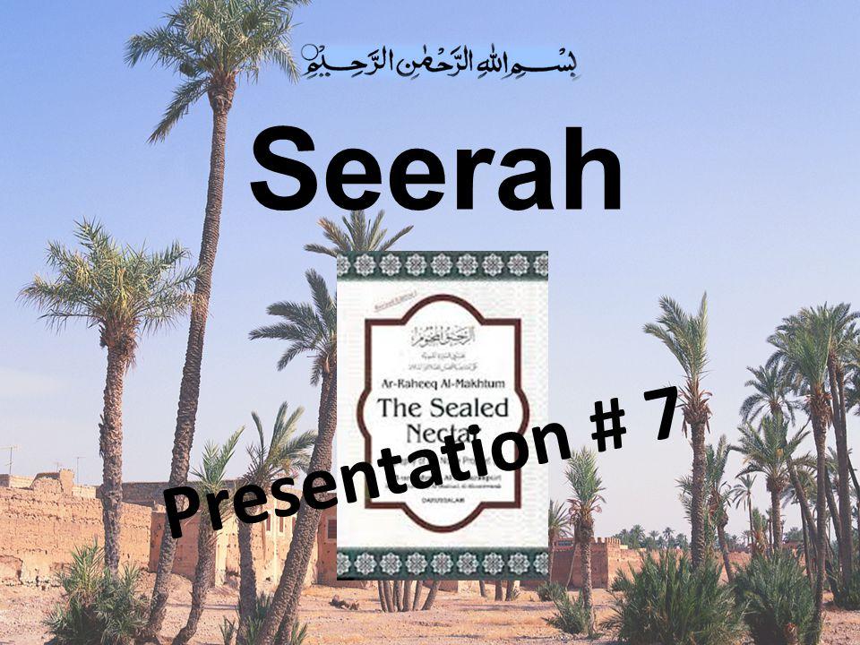 The Conversion of UMAR bin Al-KHATTAB (RA) (6 th year of Prophet hood)