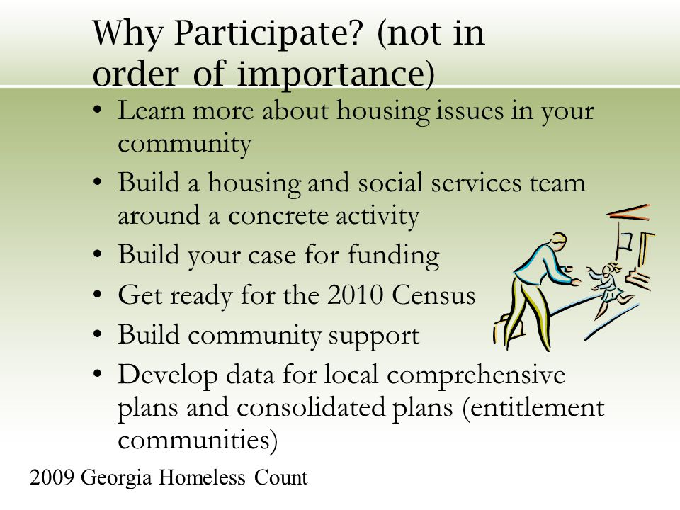 Why Participate.