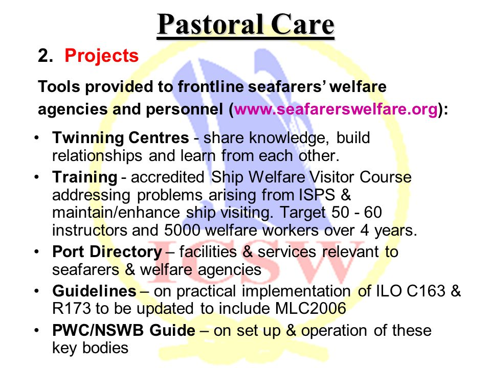 Pastoral Care 2.