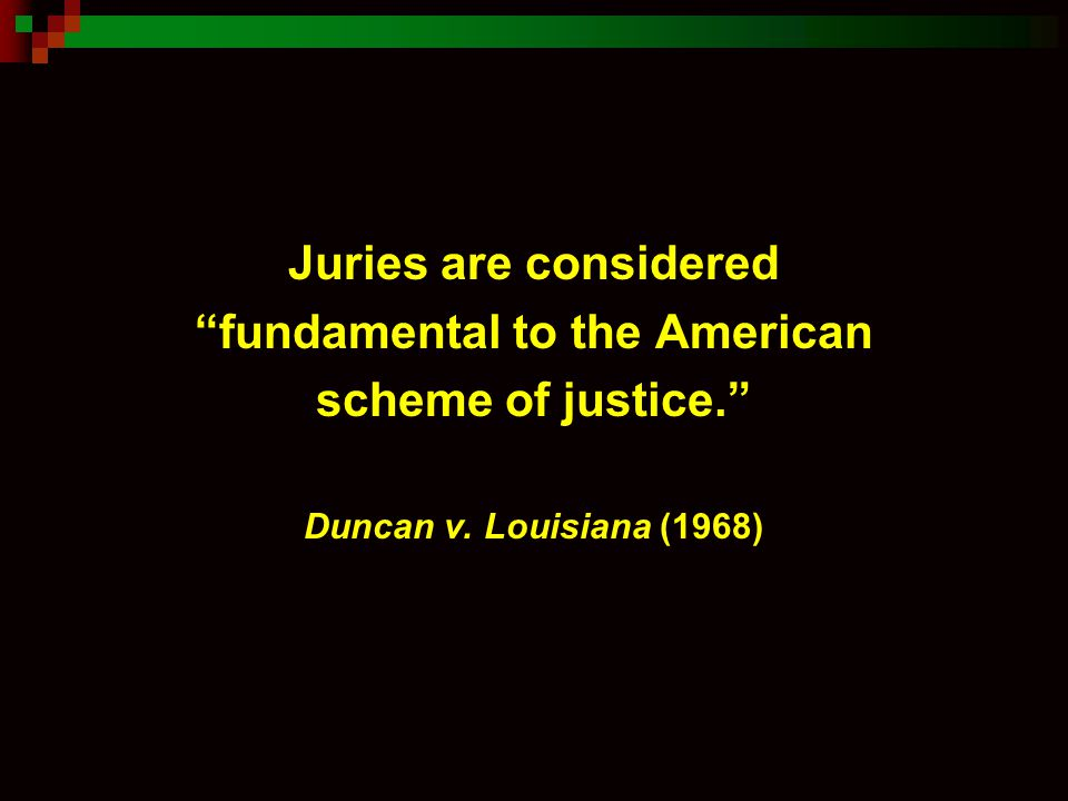 Questions: What is meant by sequestering the jury.